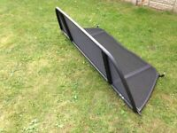 BMW E46 CONVERTIBLE WIND DEFLECTOR. WITH CARRY CASE. VGC.