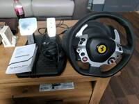 Thrustmaster TX Italia edition FFB steering wheel for XboxOne and PC - Faulty. Spares or Repair.