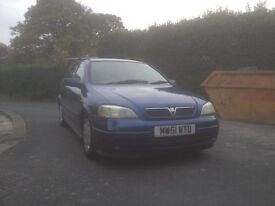vauxhall astra estate, good runner, great price and great all around clean and tidy condition.
