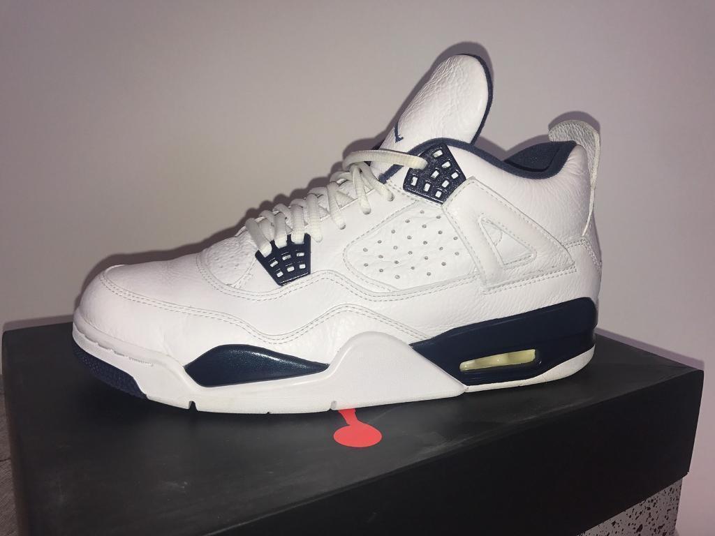 Men's Nike Air Jordan 4 Columbia UK 8