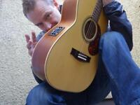 Acoustic Guitarist available.