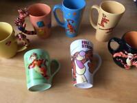 7 Winnie the Pooh Tigger mugs