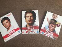 Dexter season 2, 3 and 4 DVD box sets