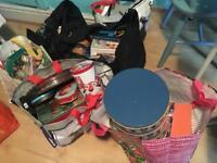 Free car boot vintage Teacups cakestand Books joblot Bric a Brac