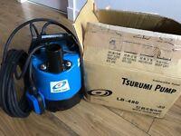 Brand new Tsurumi submersible water pump 220l/min