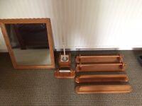 Bathroom Assessories....Pine Bathroom Furniture