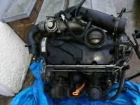 Volkswagen audi vag group asz engine pd 130 complete
