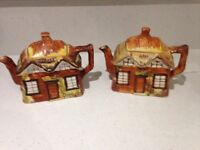 Price Bros Pair of Teapots Old Cottage