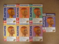 Maths Workbooks 1 - 6 & Testbook 1 by Stephen(Steve) Curran