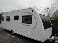 LUNAR COSMOS 554 2014 4 berth with Powrtouch Motor Mover