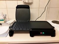George foreman health grill used twice perfect condition.