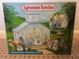 Sylvanian families -Wedding Chapel with Bride & Groom