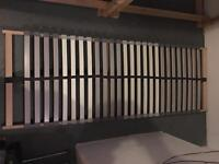 Double bed slats / Pair of almost new ikea bed slats