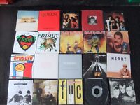 lots of vinyl records for sale
