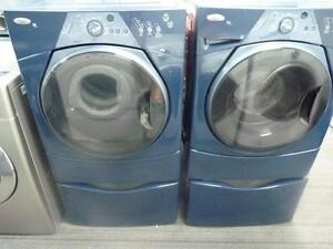 21- Whirlpool Duet Sport  Laveuse Sécheuse Frontale Frontload Washer Dryer