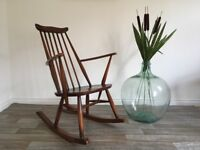 Vintage Retro Mid Century Ercol Goldsmith Rocking Chair