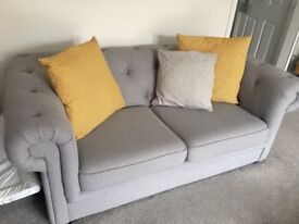 Chesterfield sofa from Dfs