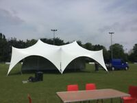 Capri Marquees 28ft by 38ft-22ft by 44ft for sale