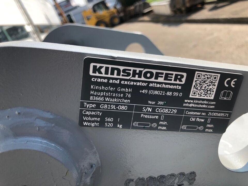 KINSHOFER Tieflöffel HARDOX verstärkt mit MS10 Aufnahme in Remshalden