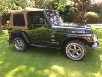 1998 Jeep Wrangler TJ Sahara