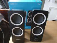 Logitech Z200 Speakers, excellent condition