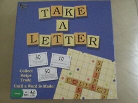 Board Game Take A Letter