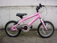 Kids Bike,Ridgeback Honey, Pink, 14 inch Wheels, Great for Girls 4+ Years,JUST SERVICED/CHEAP PRICE!