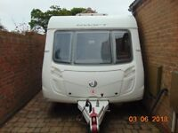 2 berth Swift Challenger 480 with motor mover