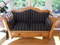 Antique Pine 2 Seat