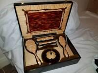 1950's Vanity set with box.