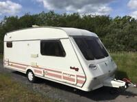 4 Berth Caravan , Fleetwood Garland , Excellent Condition With Accessories and TV!