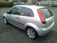 Ford fiesta silver 1.4 53 plate