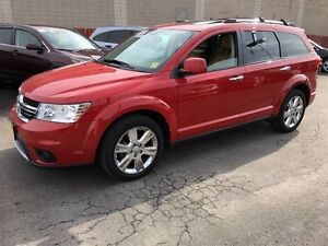 2012 Dodge Journey R/T, Sunroof, Back Up Camera, AWD, Only 38,00