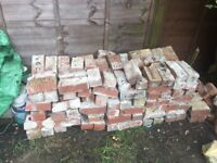 Free bricks ready to collect