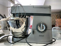Kenwood Chef plus many accessories and a pasta mill