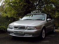 Year 2000 very low mileage Volvo C70 Convertible. Good condition.