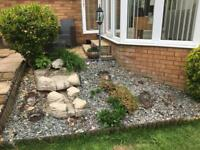 Stone Effect Cascading Water Feature