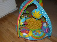 BABY PLAYNEST & GYM. PLAY NEST ONLY £10