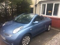 2008 Nissan micra c+c convertible only 32000k for sale