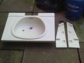caravan bathroom sink