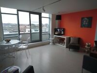 Manor Mills, Ingram St, Leeds, 2 bed penthouse f.f ROOF TOP TERRACE, private parking available now