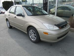 2000 Ford Focus ZTS WITH SUPER LOW KMS!