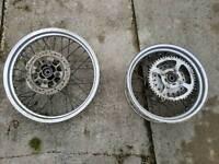 Suzuki van van wheels