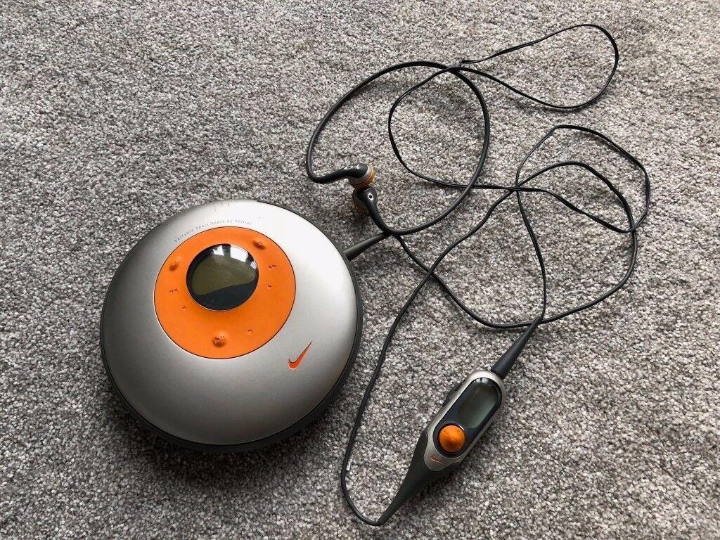 Portable Nike CD Player