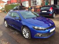 VW-Volkswagen Scirocco- 2012- LADY OWNER- LOW Mileage- 2.0L TDI GT 170 BHP-Excellent Condition