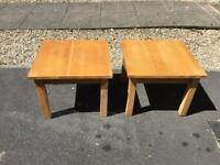 Solid pine coffee tables
