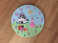 Princess picture clock