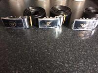 Armani & Versace new belts