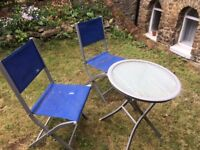 Garden furniture. Cheap as moving house. Few other items too.