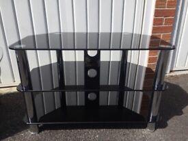 Glass TV Stand - £25